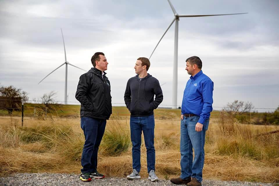 Mark Zuckerberg in Oklahoma